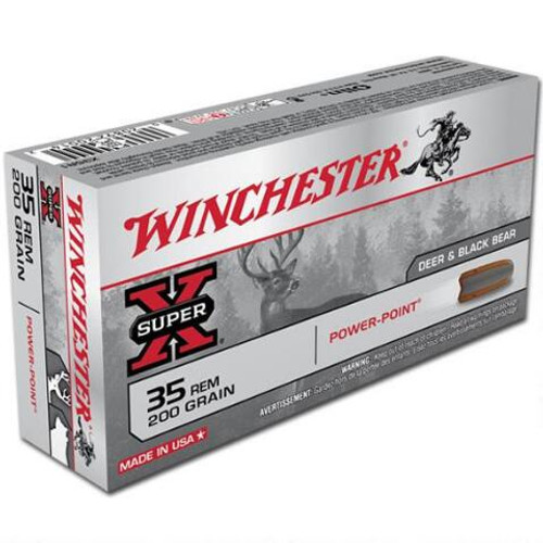 Winchester Super X 35 Rem, 200gr Power Point, Box of 20