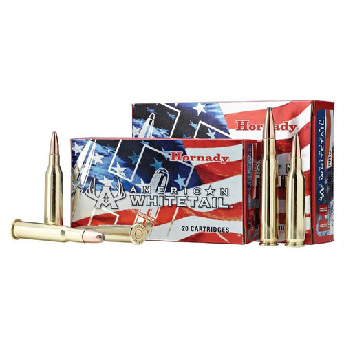 Hornady American Whitetail 6.5 Creedmoor, 129 Gr, SP 20 Rds