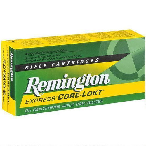 Remington Express 6.5 Creedmoor 20 Rds 140 Grain Core-Lokt PSP