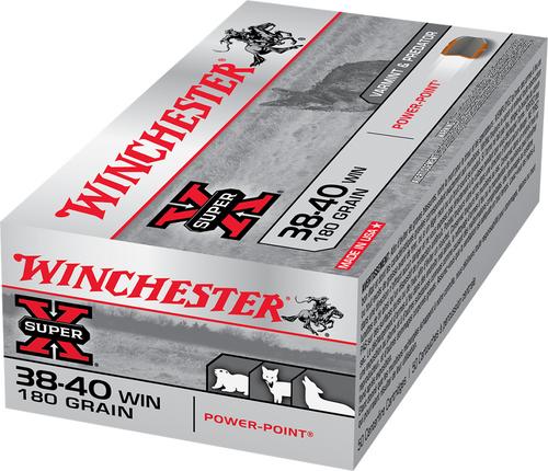 Winchester Super-X 38-40 WCF 180 Grain Soft Point Box of 50