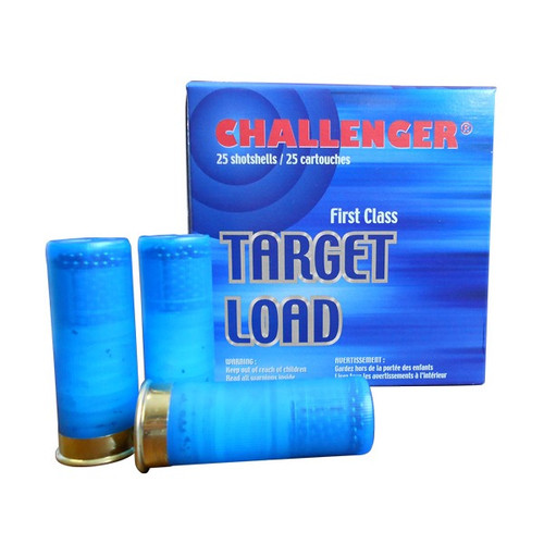 "Challenger 28 Ga 2 3/4"" #8 Target, 3/4 Oz, 25 Rds"