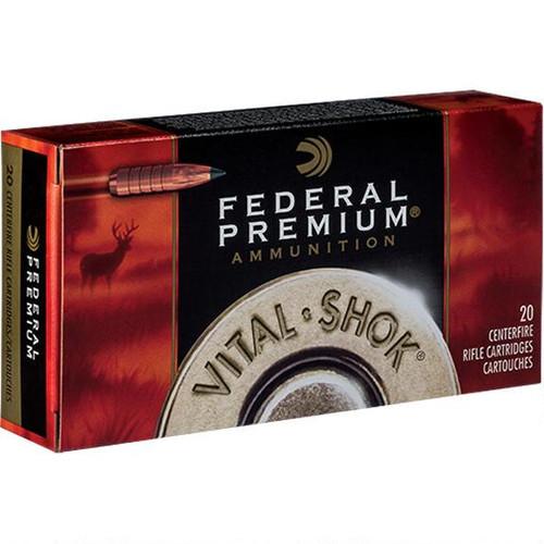 Fed 6.5 Creedmoor Vital-Shok 20 Rds 120 Gr Lead Free BT