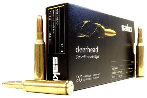 Sako Deerhead 6.5 Creedmoor, 156 Gr, Bonded SP, 123H, 20 Rds