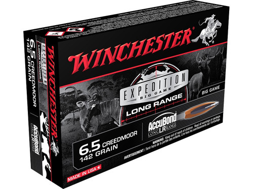 Winchester Expedition Big Game LR 6.5 Creedmoor 142 Gr, 20 Rds