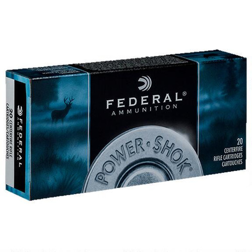 Federal Power-Shok 6.5 Creedmoor 140 Gr JSP, 20 Rd