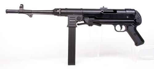 GSG MP-40 Standard Black 22LR, Semi, Blued