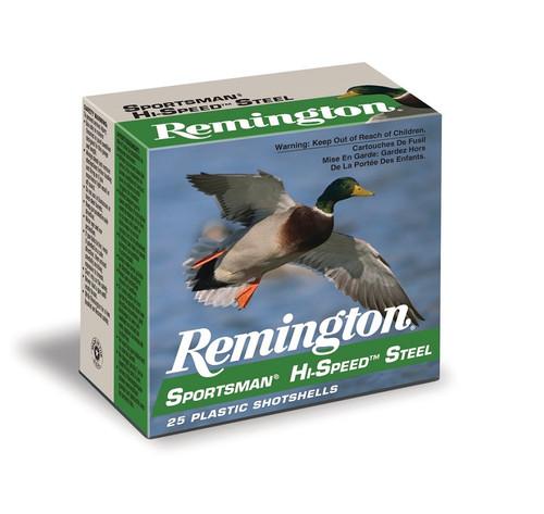 "Remington Hi Speed Steel 10 Ga, #2, 3.5"", 1 3/8 oz, 25 Rds"