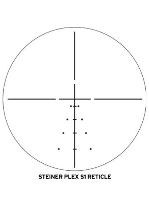 Steiner H4Xi 3-12X56mm, S1-LRS Reticle