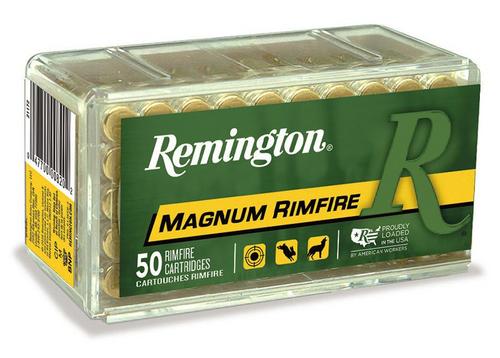 Remington 22 Win Mag, 40 Gr, JHP, 50 Rds