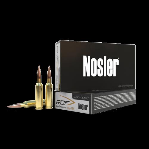 Nosler RDF Match 6mm Creedmoor, 115 Gr, HPBT, 20 Rds