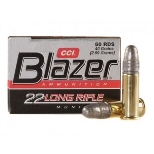 CCI Blazer .22LR 40 Grain, LRN, 50 Rds