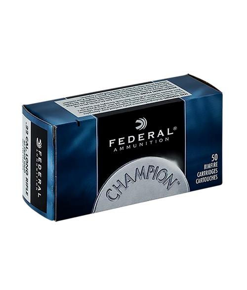 Federal Champion 1080ps 22LR 40gr Lead RN 50 Rds