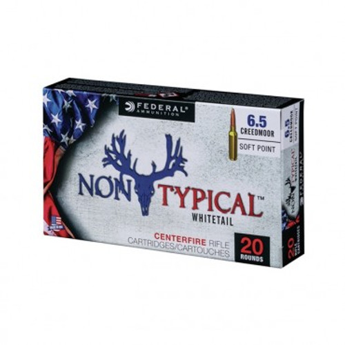 Federal Non-Typical 6.5 Creedmoor, 140 Gr, SP, 20 RDS