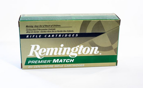 Remington Premier Match 6.5 Creedmoor, 140 Gr, OTM, 20 Rds