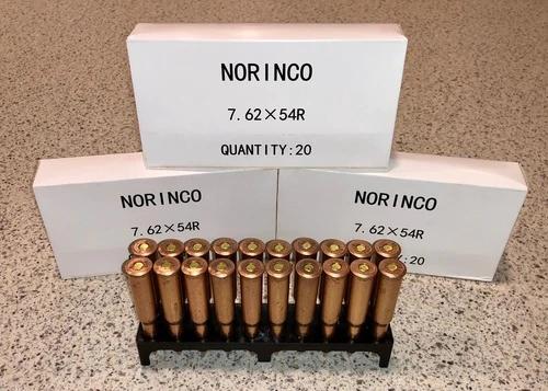 Norinco 7.62 X 54R, 150 Gr, FMJ, 20 Rds