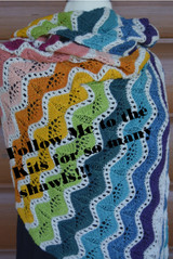 3-color Shawl Kits and 4-color Shawl Kits