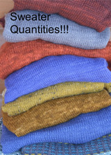Sweater Quantities