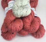 Coral and Antler Tweed