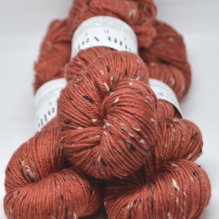 Terra Cotta Tweed