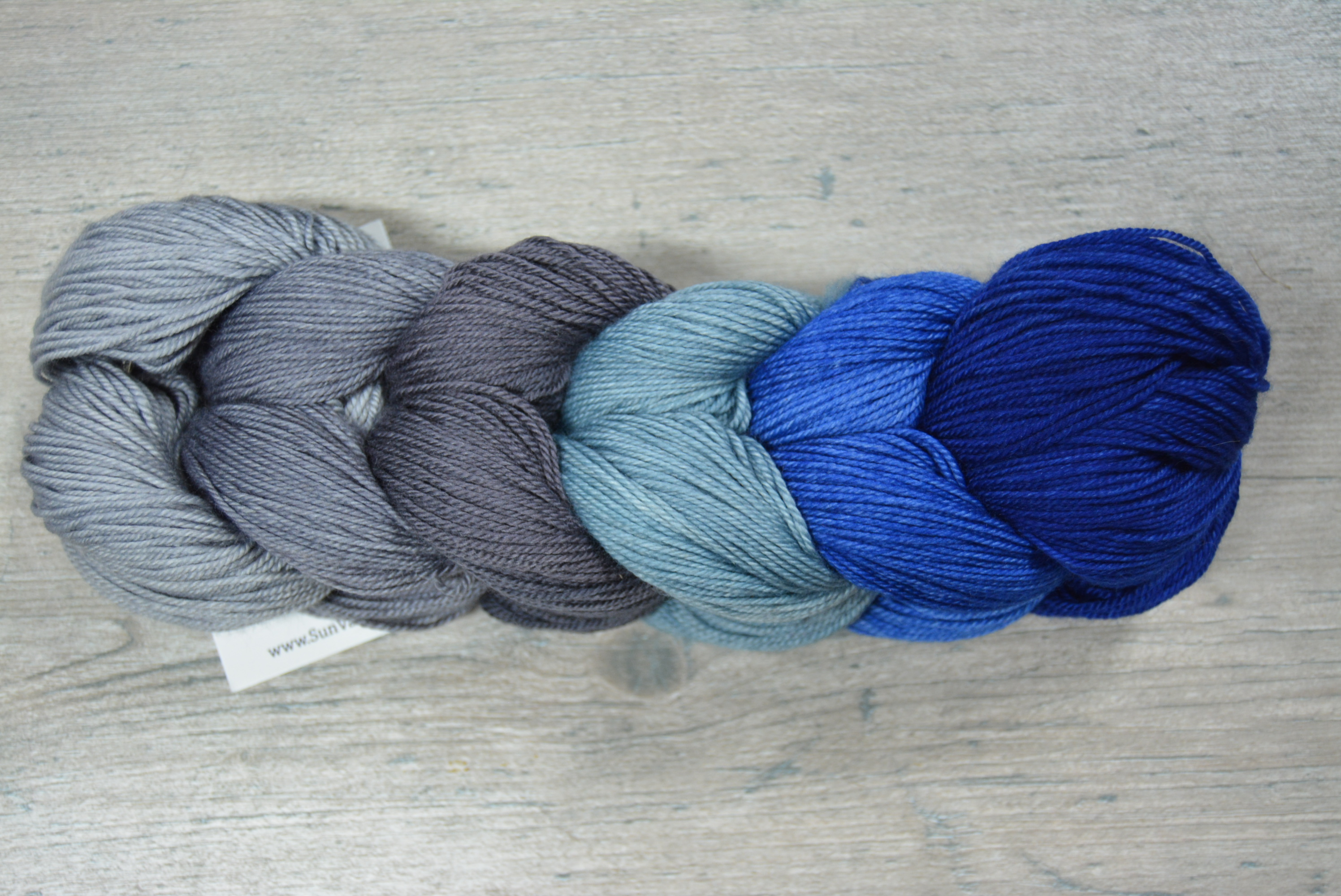 Grey Blue Gradient Set