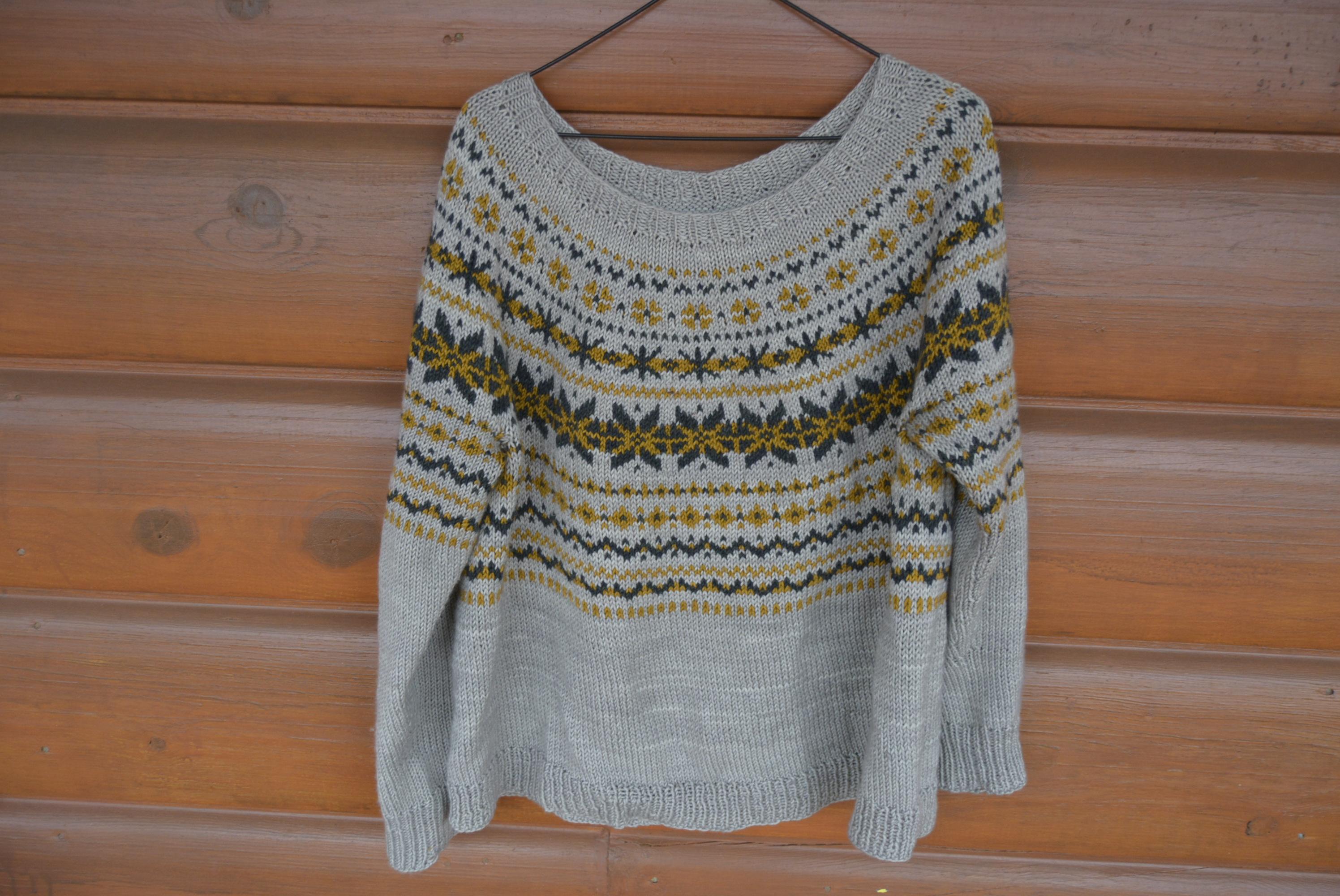 Ruska Sweater Kit