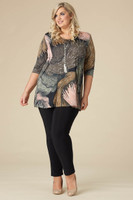 Beautifully Simple Tunic - Olive