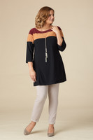 What a Lovely Day Tunic – Wine