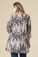 Beautifully Simple Tunic - Animal Print