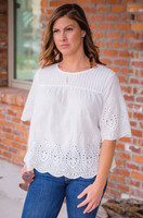 Such A Lady Top - White