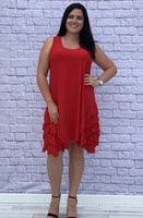 No Limits Dress - Red