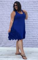 No Limits Dress - Cobalt