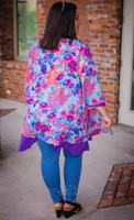 Spring Time Hype Kimono- Floral