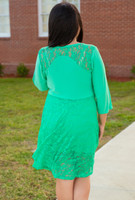 Cordially Invited Dress- Mint