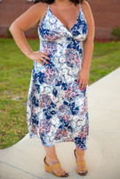 Drive You Crazy Dress-Floral