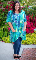 Fair Weather Short Sleeve Tunic - Mint