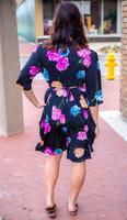 That's a Wrap Dress - Floral