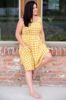 Fun In The Sun Dress- Yellow