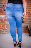 Show Your Curves Jeans- Light Blue