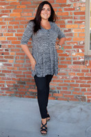 Wonderful Weekender Tunic - Gray
