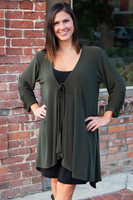 The Swing of Things Jacket - Olive