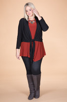Shakespearean Bolero Jacket - Solid Black