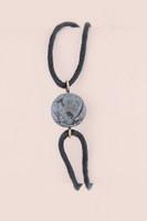 Semi Precious Bead Bracelet - Black