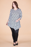 Say it Out Loud Tunic - Sunburst Print
