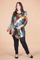 Say it Out Loud Tunic - Disco Lights Print