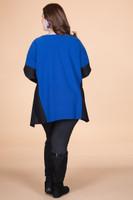 Easy Breezy Drop Shoulder Tunic - Blue