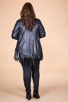 Ready to Take on Anything Fringed Jacket - Black