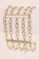Layer Chain Bracelet - Gold