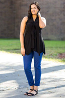 Everything You Need Sleeveless Top - Black