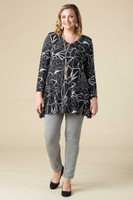 Always Ready Tunic  - Lightning Print