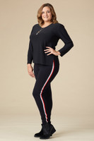 Fast Lane Leggings - Black